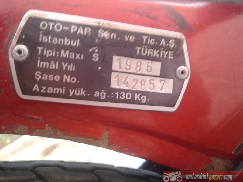 Motor Puch Maxi S