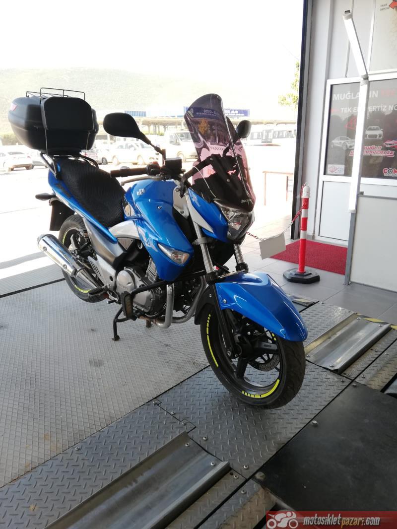 Suzuki Inazuma definitely pave Half Fairing 2014 | CarDuzz