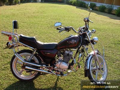 Araç motosiklet zealsun zs 125-2